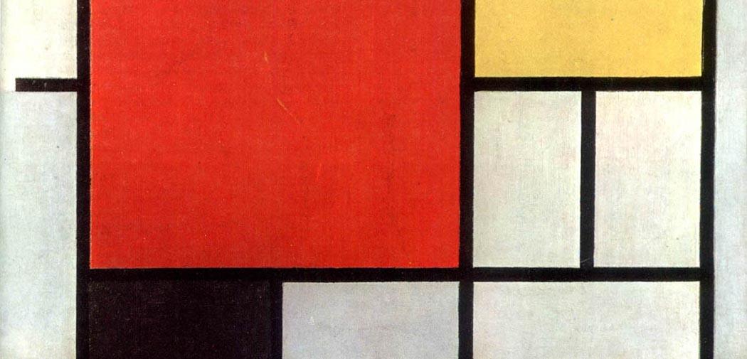 Artkids Atelier, atelier d'arts plastiques, Composition B130 de Mondrian