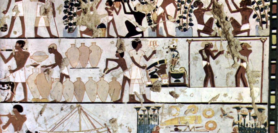 Artkids Atelier, atelier d'arts plastiques, fresque égyptienne