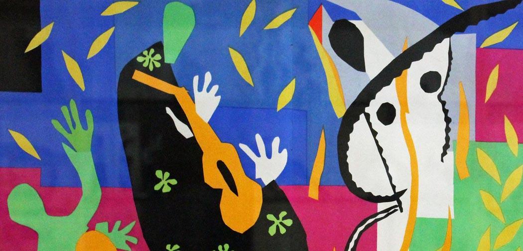 Artkids Atelier, atelier d'arts plastiques, La tristesse du roi de Matisse