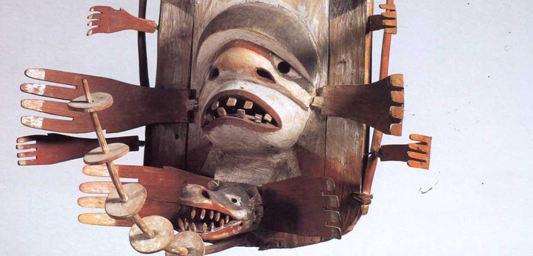Artkids Atelier, atelier d'arts plastiques, art inuit, masque Yupik