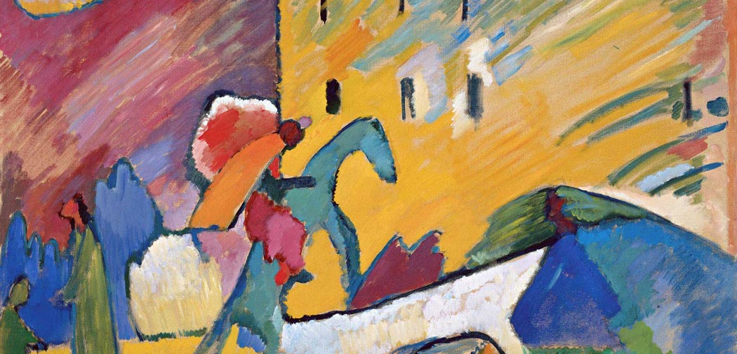 Artkids Atelier, atelier d'arts plastiques, Improvisation 3 de Kandinsky