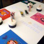 artkids atelier, tarifs des séances, cahier de recherche