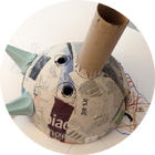 Artkids-atelier, séance masque japonais, arts plastiques art créatif pour enfants