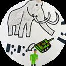 Artkids atelier, workshop, arts plastiques pour les enfants, artclass, préhistoire