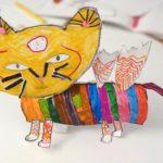 Artkids Atelier, activités arts plastiques pour enfants 2018 / 2019 dubuffet coucou bazar