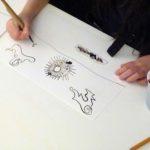 Artkids atelier activités pour enfants arts plastiques créativité paris 75007 van gogh